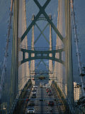 View Across the Lions Gate Bridge Photographic Print by Annie Griffiths Belt