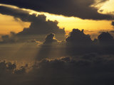 Enormous Clouds Fill the Sky at Twilight Photographic Print by Tim Laman