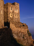 Historic Building on Hilltop, Shihara, Yemen Photographic Print by Bethune Carmichael