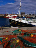 Nets on Howth Harbour, Dublin, County Dublin, Ireland, Leinster Photographic Print by Doug McKinlay