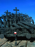 Monument to the Victims of the Soviet Aggression of 17th September 1939, Warsaw, Poland Photographic Print by Krzysztof Dydynski