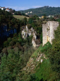 Gorge Walls of River Pazincica, Pazin, Croatia Photographic Print by Wayne Walton
