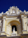 Statue of Queen Isabella in La Merced, Antigua Guatemala, Sacatepequez, Guatemala Photographic Print by Tony Wheeler