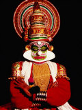 Kathakali Performance, Kochi, India Photographic Print by Eddie Gerald