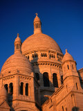 Domes of Sacre-Coeur Basilica, Paris, France Photographic Print by Martin Moos