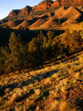 Section of Aroona Valley, Flinders Ranges National Park, Australia Photographic Print by Paul Sinclair