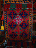 Textile decoration, Kyrgyzstan Photographic Print by Martin Moos