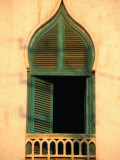 Arabesque Style Window, Massawa, Eritrea Fotografisk tryk af Patrick Syder