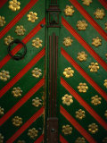 Door Detail from House of the Brotherhood of the Blackheads, Tallinn, Harjumaa, Estonia, Photographic Print by Jane Sweeney