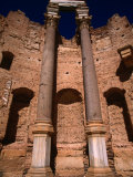 The Huge Columns of the Severan Basilica in Leptis Magna, Libya Photographic Print by Doug McKinlay