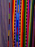 Woven Fabric Detail, Chichicastenango, Quiche, Guatemala, Photographic Print by Richard I'Anson