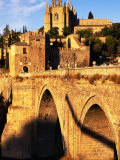 San Juan De Los Reyes Seen from Near Puente De San Martin, Toledo, Spain Photographic Print by Damien Simonis