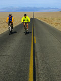 Cycling on the Ca 178 Near Badwater, Death Valley, California, USA Photographic Print by Roberto Gerometta