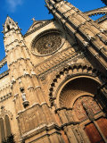 Facade of Palma Cathedral, Palma De Mallorca, Spain Photographic Print by Setchfield Neil