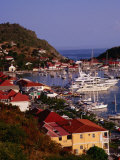 Town Harbour, Gustavia, St. Barts Photographic Print by Wayne Walton