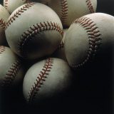 Still Life of Baseballs Photographic Print by Howard Sokol