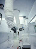 Robotic Arms in Pharmaceutical Manufacturing Photographic Print by John Coletti