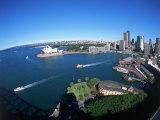 Harbor & City, Sydney, Australia Impressão fotográfica por David Ball