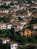 Overhead of Ottoman Houses, Safranbolu, Turkey Photographic Print by John Elk III