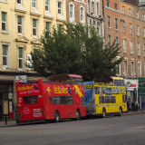 Dublin Ireland - Buses Photographic Print by Keith Levit