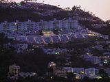 Las Brisas Hotel, Acapulco, Mexico Photographic Print by Walter Bibikow