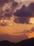 Sunset, Antigua, West Indies Photographie par Lauree Feldman
