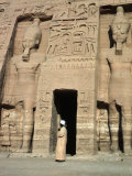 Temple of Nefertari, Abu Simbel, Egypt Photographic Print by Michele Burgess
