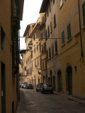Street of Florence Italy Photographic Print by Keith Levit