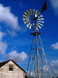 Wind-Driven Water Pump, FL Photographic Print by Jeff Greenberg