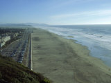 Ocean Beach from Sutro Heights Park, San Francisco Photographie par Reid Neubert