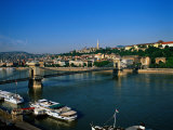 Danube, Budapest, Hungary Photographic Print by David Ball