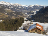 Chalet in the Nieder Simmental Valley Photographic Print by Nicole Duplaix