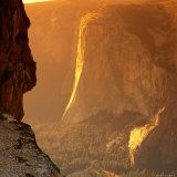 El Capitan at Sunset, Yosemite National Park, USA Fotografisk trykk av Wes Walker