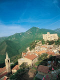 Medieval Town, Liguria, Italy Photographic Print by Walter Bibikow