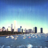 Chicago Skyline, Illinois Photographic Print by Claire Rydell