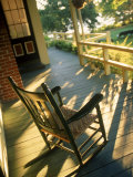 Claremont Hotel Porch, Mt. Desert Island, ME Photographic Print by Kindra Clineff