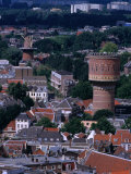 Buildings from Dom Tower, Utrecht, Netherlands Photographic Print by Rick Gerharter