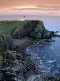 Coastline and Rhu Stoer Lighthouse (Stoerhead), United Kingdom Photographic Print by Mark Daffey