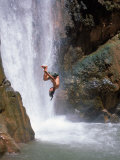 Diving, Deer Creek Falls, Grand Canyon National Park, AZ Photographic Print by Amy And Chuck Wiley/wales