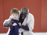 Martial Arts Instruction Photographic Print