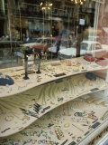 Jewelry Store with Cars Reflected in the Window Photographic Print