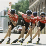 Rollerblade Racing Team Photographic Print