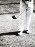 Person Playing Golf Photographic Print