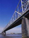 Second Street Bridge, Louisville, Kentucky, USA Photographic Print