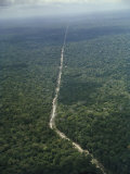 Amazon Highway, Between Brazilia and Belem Brazil Photographic Print