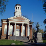 London County Courthouse, Leesburg, Virginia, USA Photographic Print