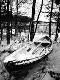 Sweden, Torso, Lake Vanern, Boat Photographic Print by James Denk