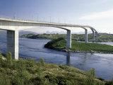 Bridge over Salstromen, Norway Photographic Print