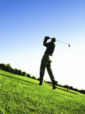 Golfer Photographic Print