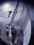 Sailing Along Lámina fotográfica